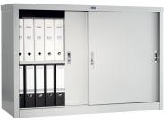 Шкаф офисный архивный с раздвижными дверьми ПРАКТИК AMT 0812