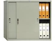 Шкаф офисный архивный с раздвижными дверьми ПРАКТИК AMT 0891