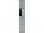 Шкаф для раздевалки и вещей ПРАКТИК AL-004 (приставная секция)