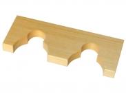 Ложемент деревянный на 2 ствола