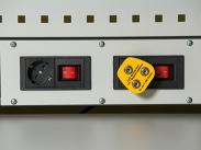 ДиКом Вставка с адаптерами под 4 розетки ESD